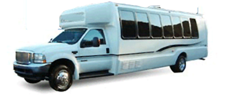 22 Passenger Luxury Limo-Bus
