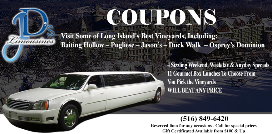 JD's Limos Coupons